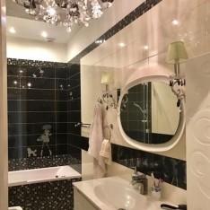 Ванная на 2 этаже, таунхаус 1А, Резиденция Рублево