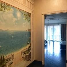 Холл 2 этаж, таунхаус 1А, Резиденция Рублево